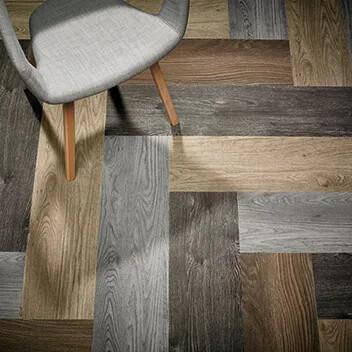 Flotex planks Wood herringbone 151001_151002_151004_151006