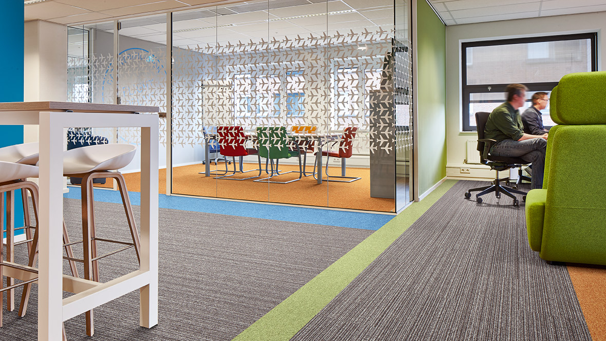 Discover Tessera Planks: our newest carpet tile range