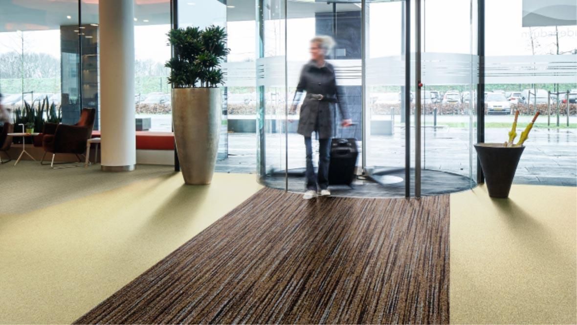 coral entrance flooring forbo flooring systems. Black Bedroom Furniture Sets. Home Design Ideas