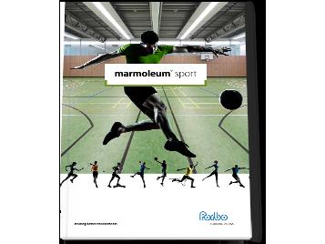 Broschyr Marmoleum Sport
