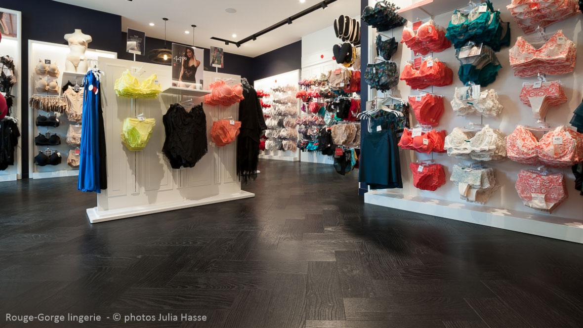 Boutique lingerie ROUGE-GORGE