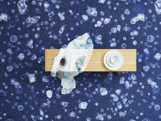 Nienke Sybrandy Bloemen en zeepbellen