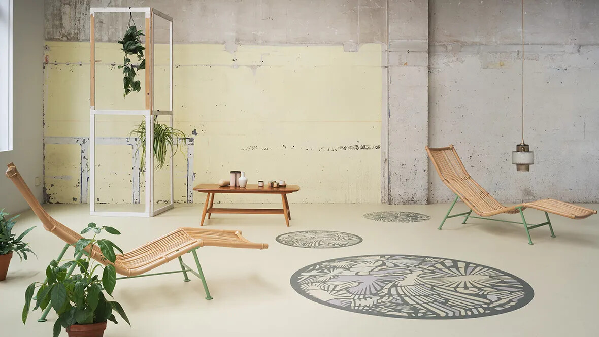 Marmoleum Imagine designed by Kustaa Saksi