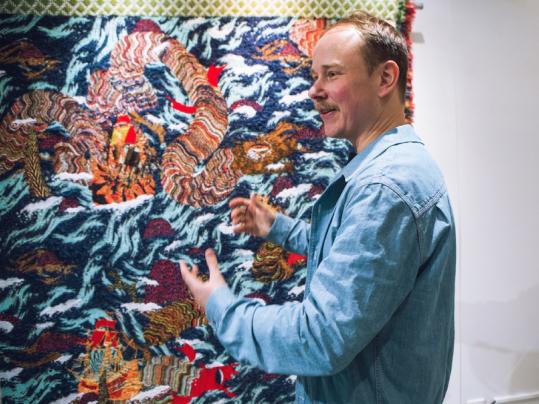 Kustaa Saksi woolgathering-exhibition B