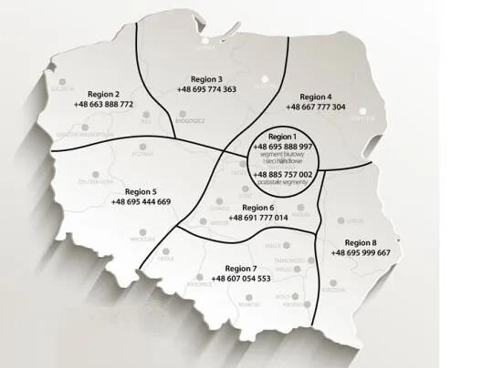 mapa sprzedawców