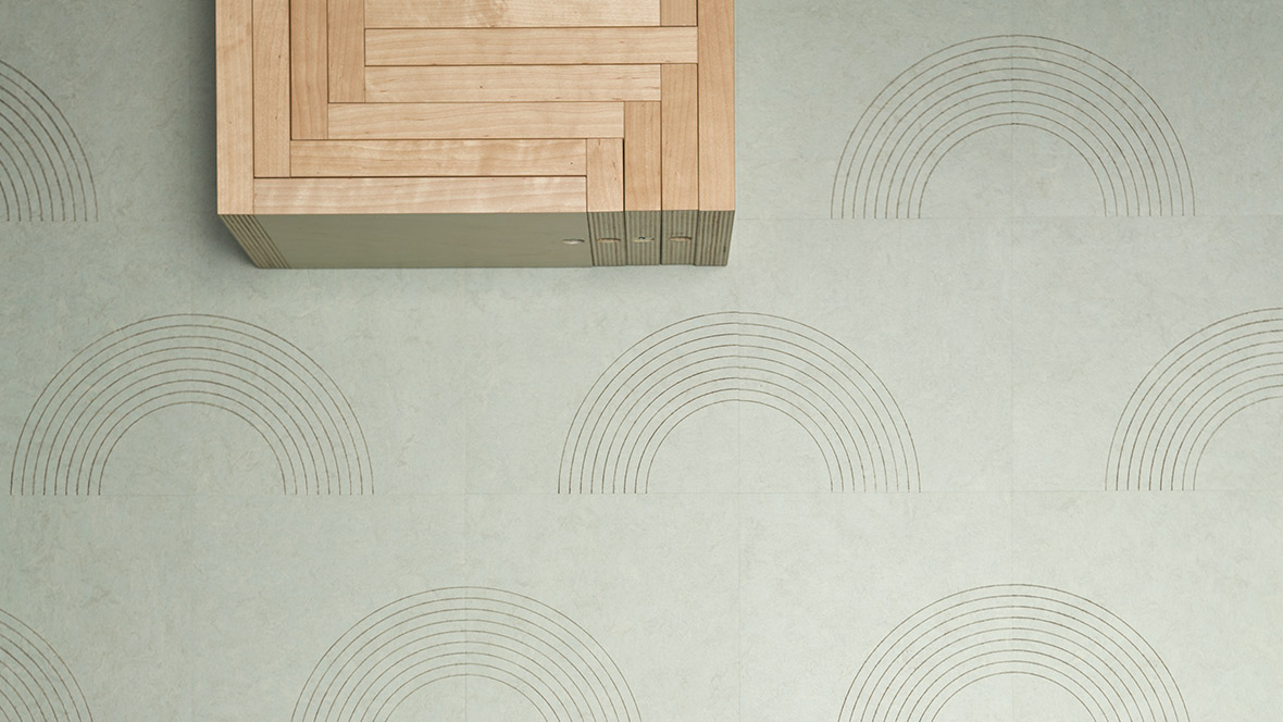 Marmoleum_Signature_CIRCLE(half)_3884_top B