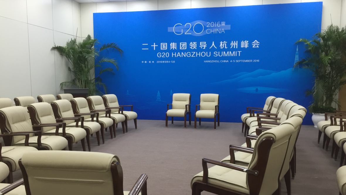 G20 Summit - News and Security Center Meeting room 2