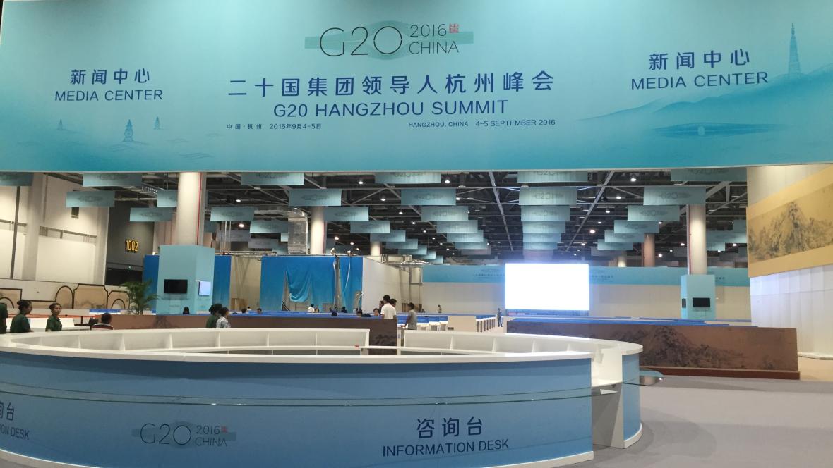 G20 Summit - Media Centre