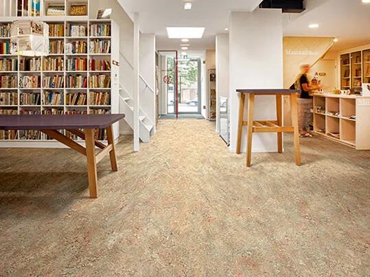 Revêtement de sol linoléum traditionnel, Marmoleum Vivace | Forbo Flooring Systems