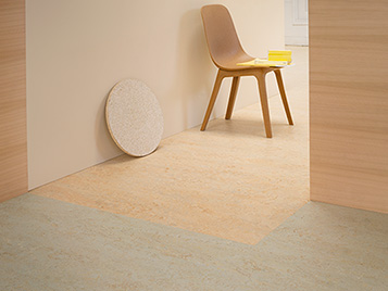 Marmoleum Real 3038 & Splash 3433