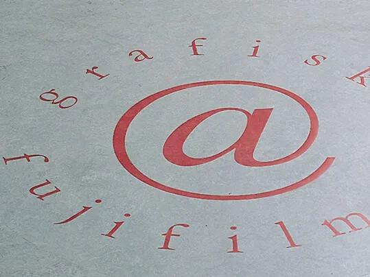 Fuji film logo Aquajet Arch28