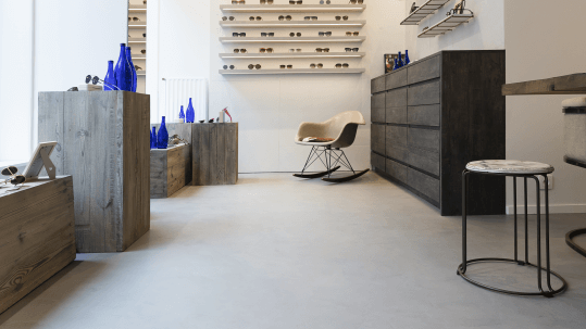 Betondesign optiek loft