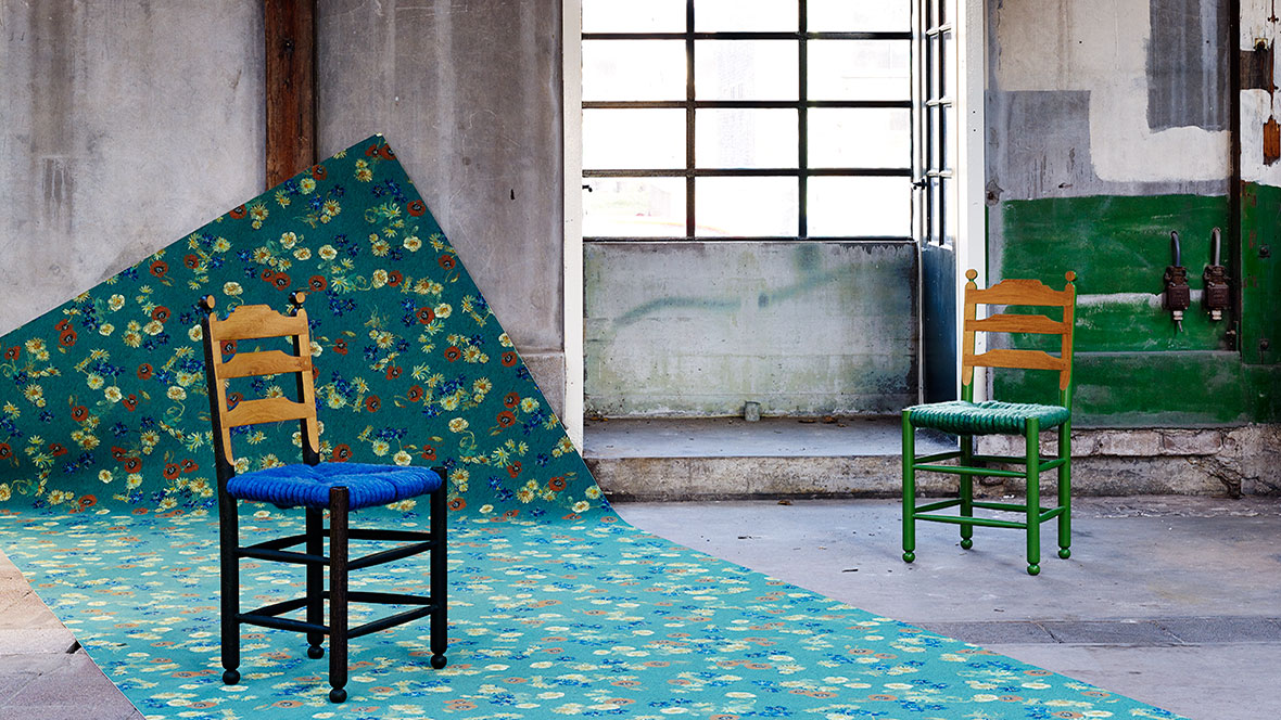 Flotex inspired by Van Gogh