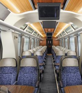 Tessera FR paklājs - East Midlands vilcienos