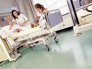 Vårdrum barnsjukhus