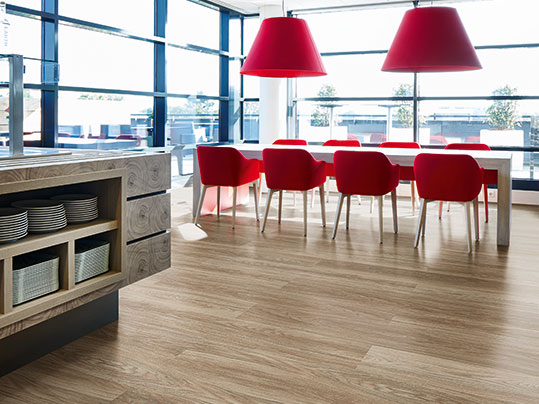 Luxury vinyl tiles and planks for classrooms