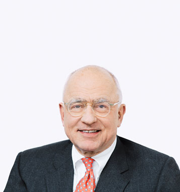 Portrait photograph of Michael Pieper, Deputy Chairman at Forbo