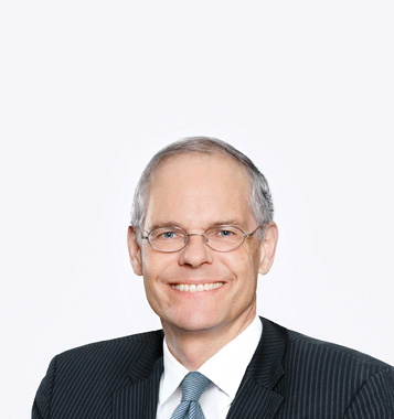 Portrait photograph of  Dr. Reto Müller, member of the Board of Directors at Forbo