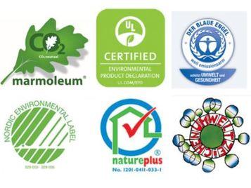 Marmoleum Eco labels