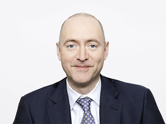 Portrait photograph of Andreas Spreiter, Forbo Chief Financial Officer