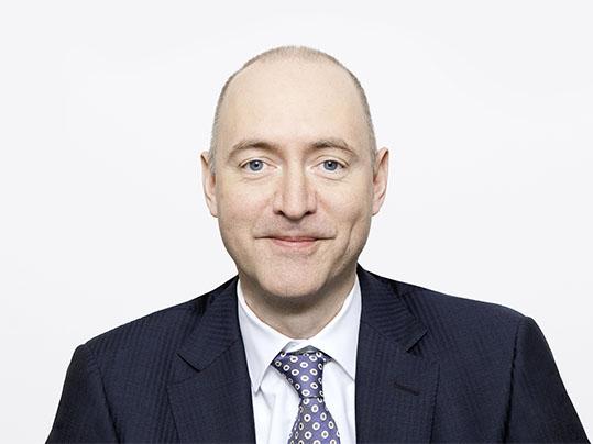 Porträtaufnahme von Andreas Spreiter, Forbo Chief Financial Officer
