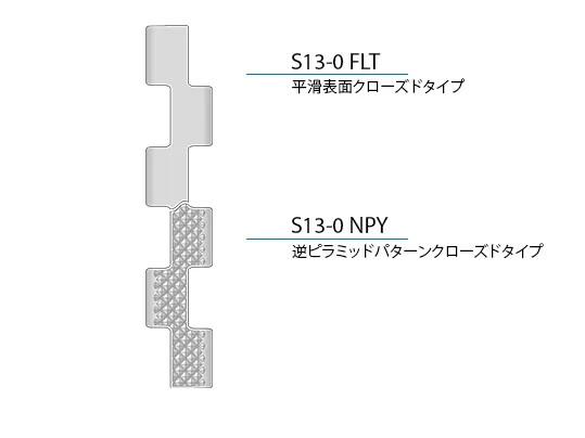 Design characteristics S13 JA