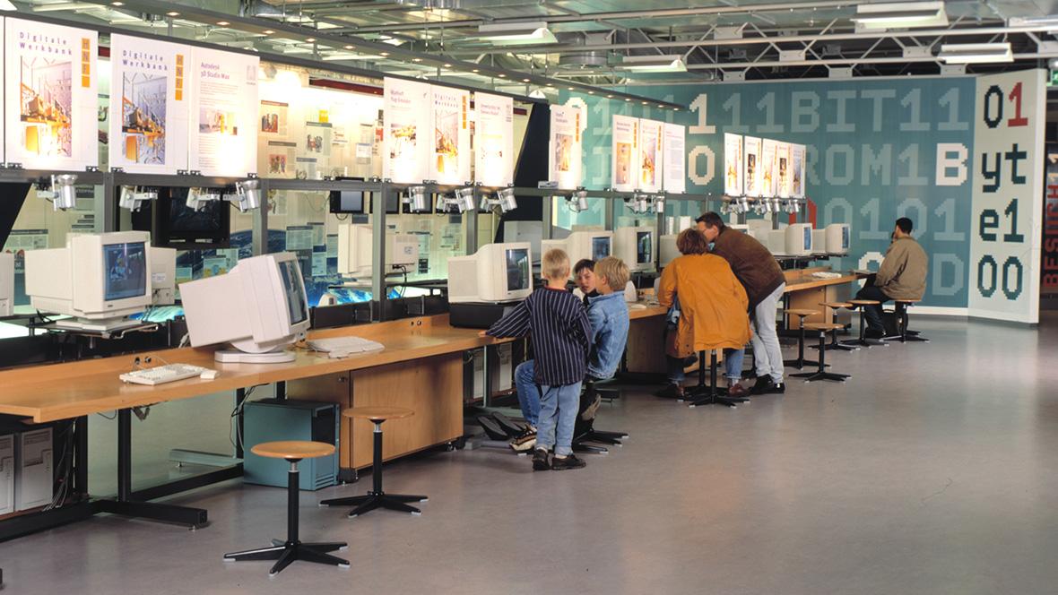 Heinz Nixdorf computerroom