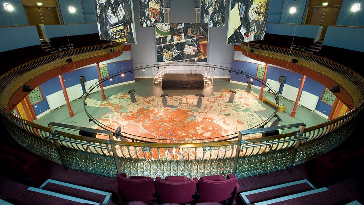 Museum public building - flooring