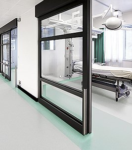 Flooring for healthcare, hospital, health clinics.