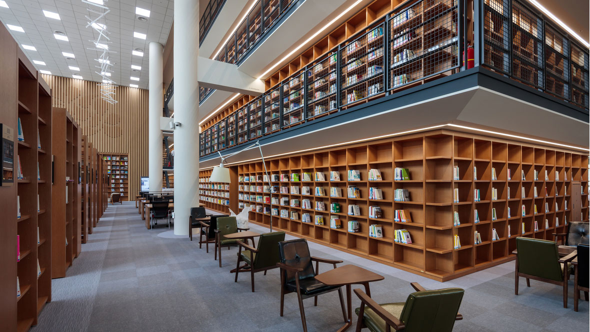 Chungnam Library - Korea