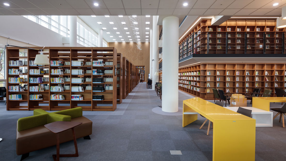 Chungnam Library Korea