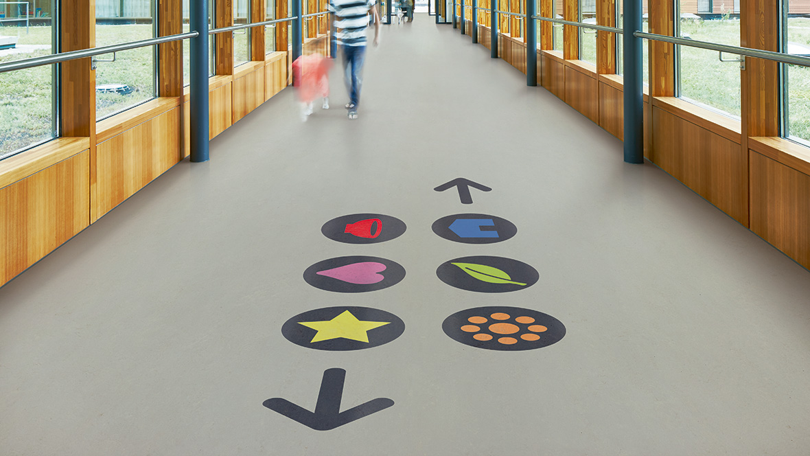 most sustainable resilient flooring for schools & education sector