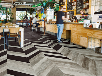 Allura Luxury Vinyl Wood Planks - Hungarian Point Design