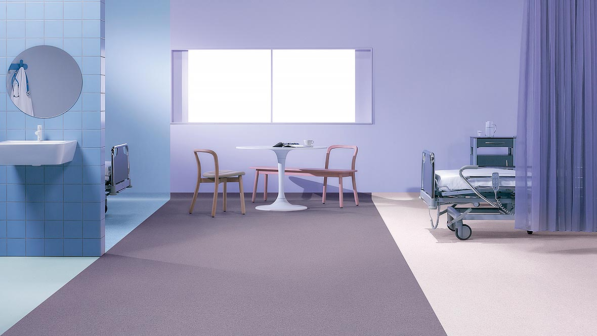 Sphera element homogeneous vinyl flooring - Best practice PVC