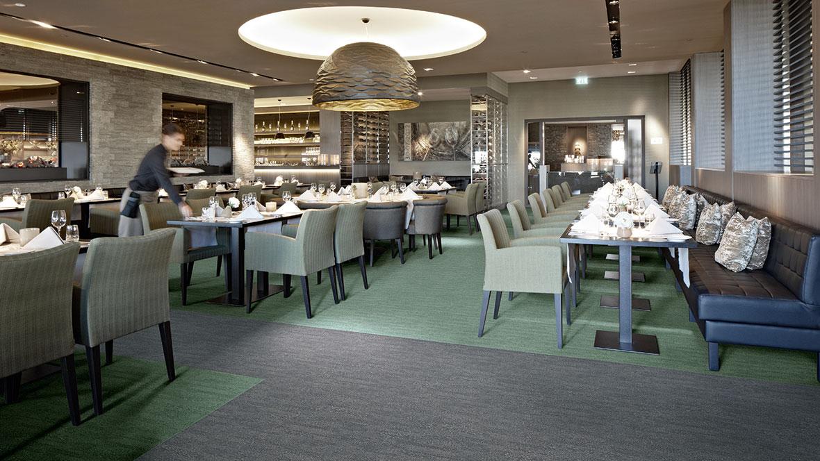 Flotex Textile Flooring - Restaurant