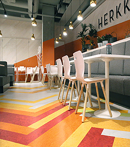 Flooring for hospitality & retail