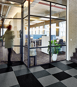 Coral entrance matting for hospitality & leisure