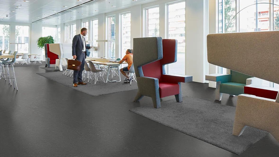 Marmoleum Concrete 3725 office