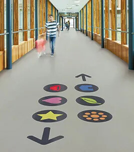 View our floors in hospitals, schools, offices and more