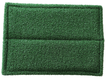 Decoater Pad Rubber/LVT, green