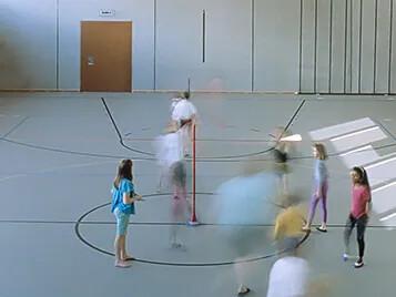 Gymnastiksal Marmoleum Sport