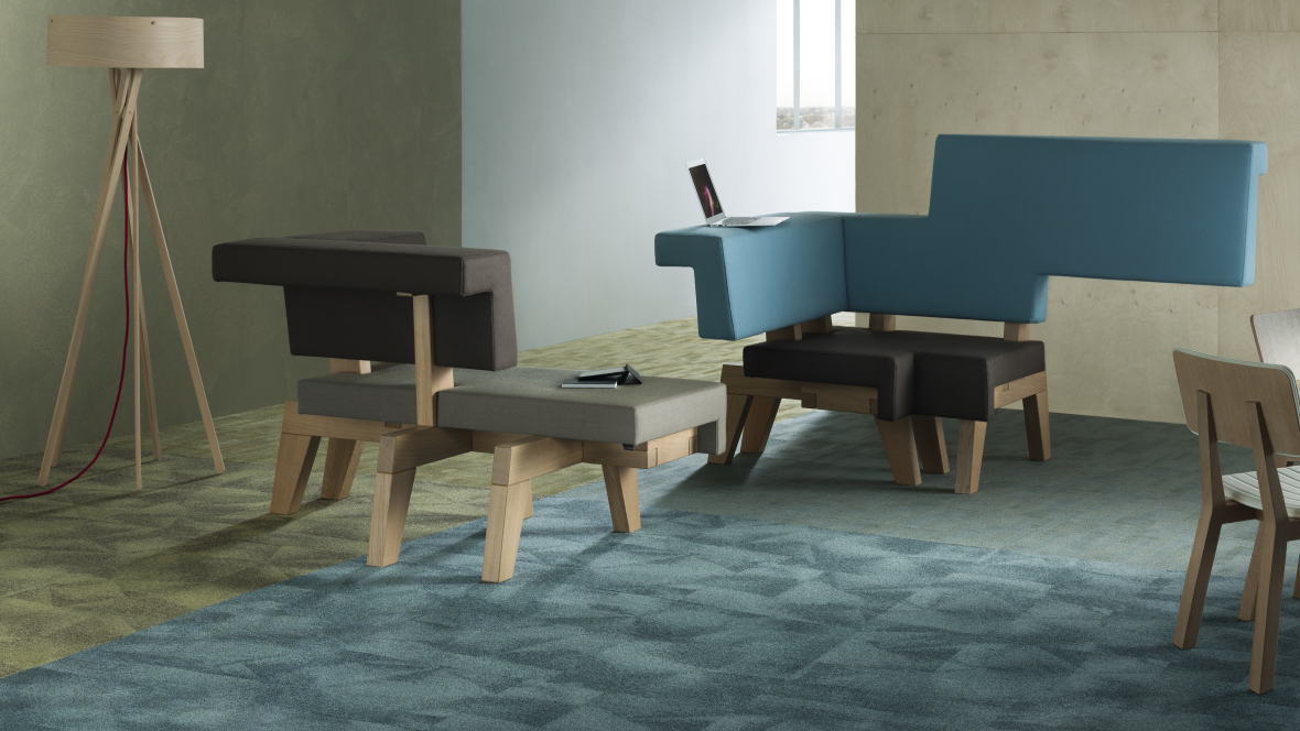 Tessera Loop Pile Carpet Tiles By Forbo Flooring Systems