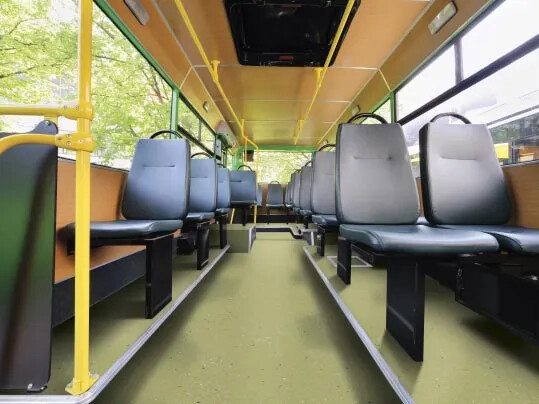 Forbo Flooring System - Step Vinyl - Bus Flooring