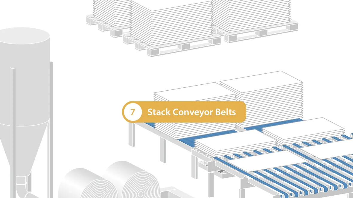 Stack Conveyor Belts
