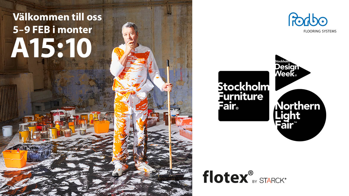 Furniture Fair with Flotex by Starck