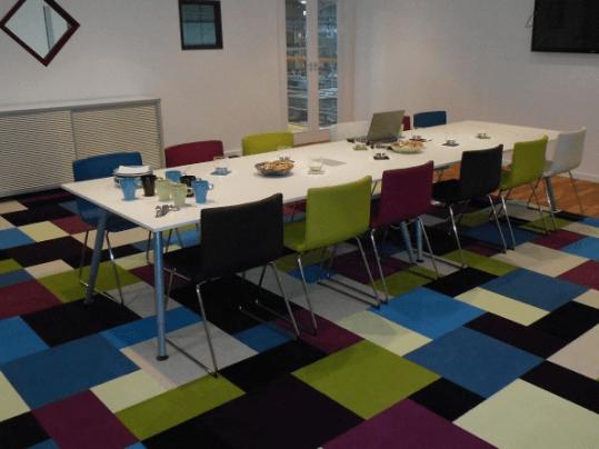 Westbond carpet tiles