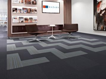 Flotex Linear Complexity - flocked flooring