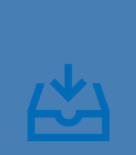 Forbo Media Archive: mail inbox icon.