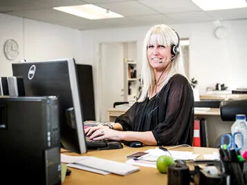 Anna Customer Service Sweden
