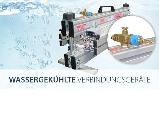 Wassergekühlte Verbindungsgeräte